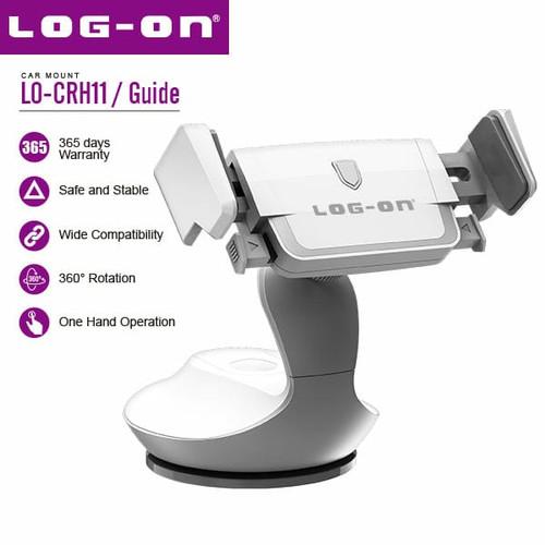 Foto Produk Log On Guide LO-CRH11 Stand Holder Handphone Universal - Abu-abu dari Log-on Official Store