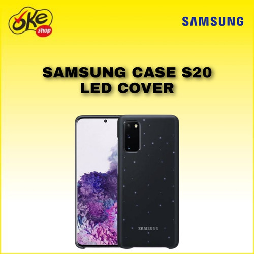 Foto Produk Samsung Case S20 LED Cover - Black dari OKESHOP