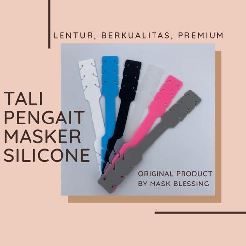 Foto Produk Pengait Masker Silikon Premium (ORIGINAL) dari Mask-Blessing