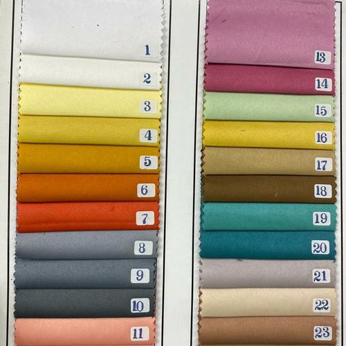 Foto Produk kain satin velvet silk premium/roberto maxmara polos/bahan gamis/dress dari wirda silvian
