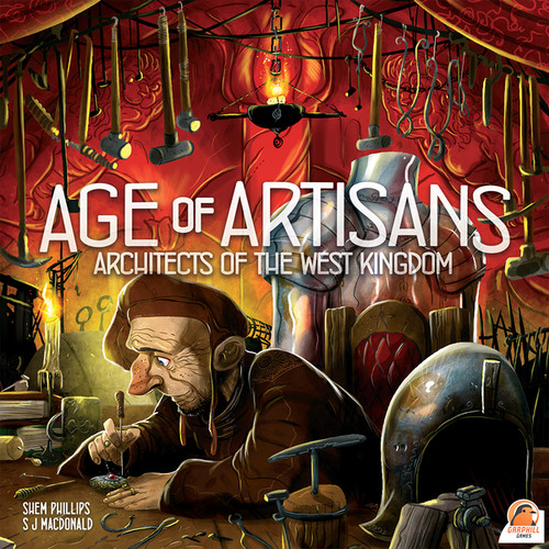 Foto Produk Architects of the West Kingdom: Age of Artisans (Original) Board Game dari Toko Board Game