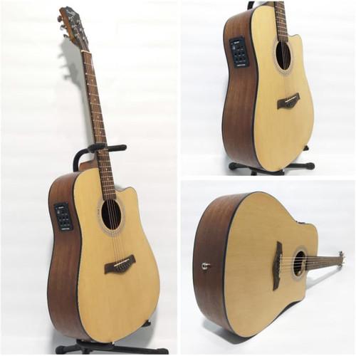 Foto Produk Gitar akustik elektrik COWBOY GWC 240 NA NS ORIGINAL TUNER dari Blaze Music