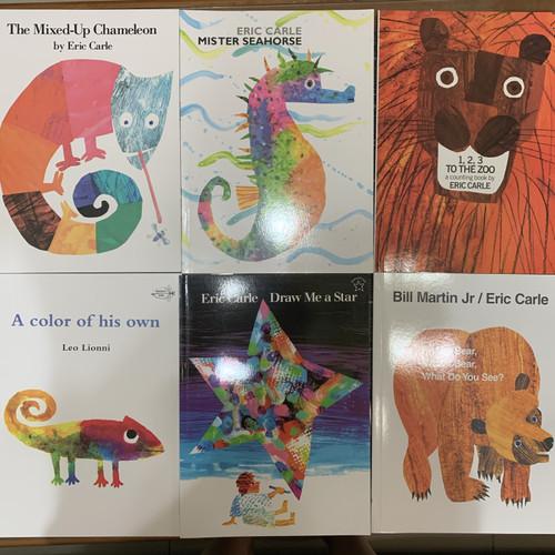 Foto Produk Gambar buku picture buku Eric Carle buku Inggris anak dari My First Library