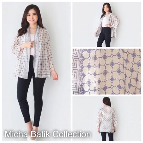 Foto Produk Cardigan Batik Paris Cap (tembokan) dari Micha Batik Collection