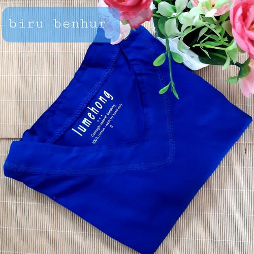 Foto Produk Kaos Polos Wanita Leher V-Neck Besar Tangan Pendek - S, Putih dari Kerry Onlineshop