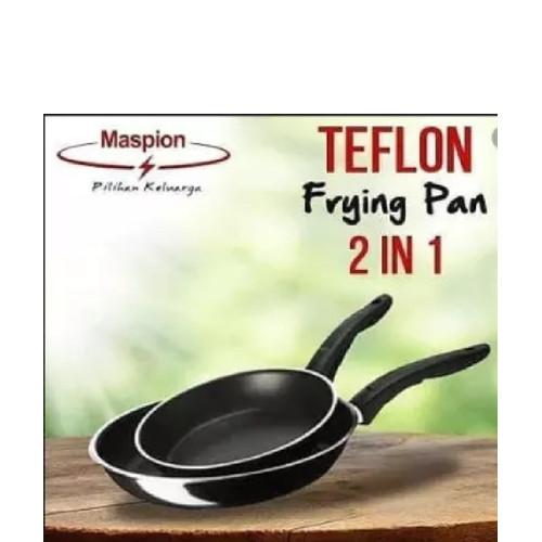 Foto Produk Maspion Frypan Wajan Teflon 18 & 23 cm dari raesha