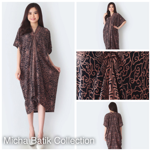 Foto Produk Kaftan Batik Paris Cap (warna sogan) dari Micha Batik Collection