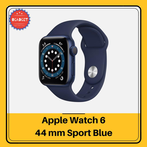 Foto Produk Apple Watch Series 6 44mm 40mm - Biru, 40 dari O-Gadget