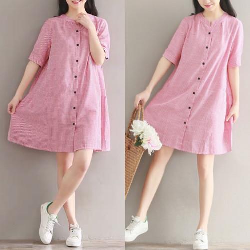 Foto Produk Dress Big size 0992# Lucy - Salem dari NewRedstore