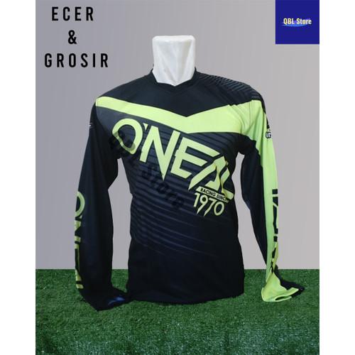 Foto Produk Baju Sepeda Olahraga Kaos Balap Gowes print Premium Trail Oneal - Oneal, M dari Qbl Store