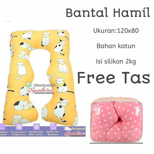 Foto Produk bantal hamil maternitty pillow Polos Pilihan 3 dari MY ZaZaFa