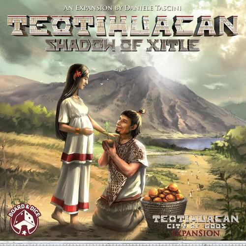 Foto Produk Teotihuacan: Shadow of Xitle (Original) Board Game Expansion dari Toko Board Game