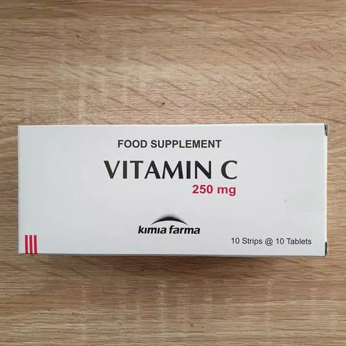 Foto Produk Vitamin C Kimia Farma 250 mg 1 box isi 100 tablet dari To Sehat Jakarta