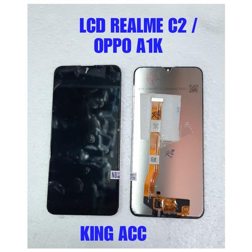 Foto Produk LCD + TOUCHSCREEN OPPO REALME C2 OPPO A1K NEW ORIGINAL dari king acc&sparepart hp