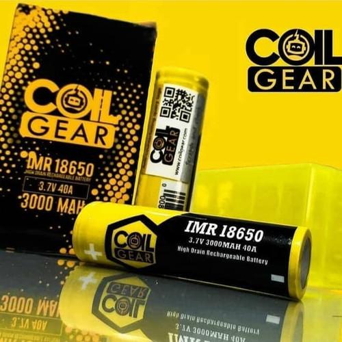 Foto Produk Authentic CoilGear Yellow 18650 3000mAh 40A dari Tamy Shop