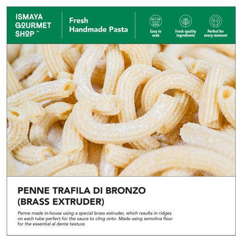 Foto Produk Penne Trafila di Bronzo (Brass extruder) 300GR - Ismaya FRESH HANDMAD dari Ismaya Gourmet Shop