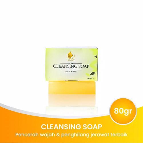 Foto Produk Royalty Cleansing Soap Sabun Pemutih Wajah Badan dan Penghilang Bopeng dari GreenAngelica Official