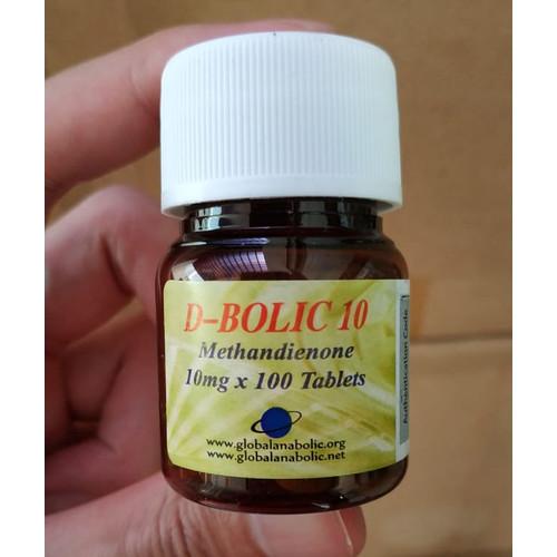 Foto Produk dbolic 10mg 100tabs methandienone dbol dianabol global anabolic XTORI dari Fitnesnutrisi