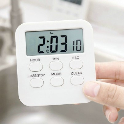 Foto Produk Digital Kitchen Timer JS186 4 in 1 Timer Stopwatch Clock Alarm on/off dari XAOH