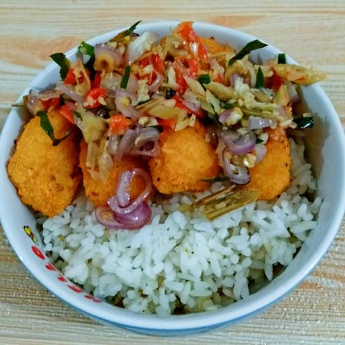 Foto Produk Nasi Mangkuk Brondong Ayam Sambal Matah dari Twinkle Stars