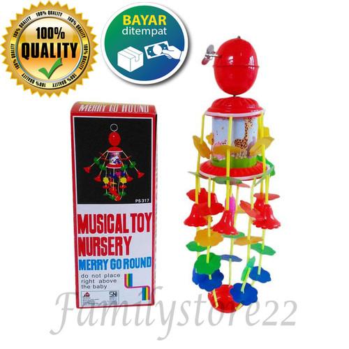 Foto Produk Merry Go Round Musical/ mainan musik anak putar / mainan bayi dari Bunglon.id