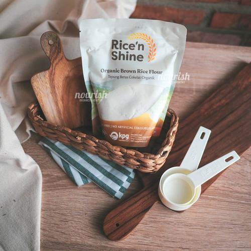 Foto Produk Rice n Shine Organic Brown Rice Flour (Tepung Beras Cokelat Organik) dari Nourish Indonesia
