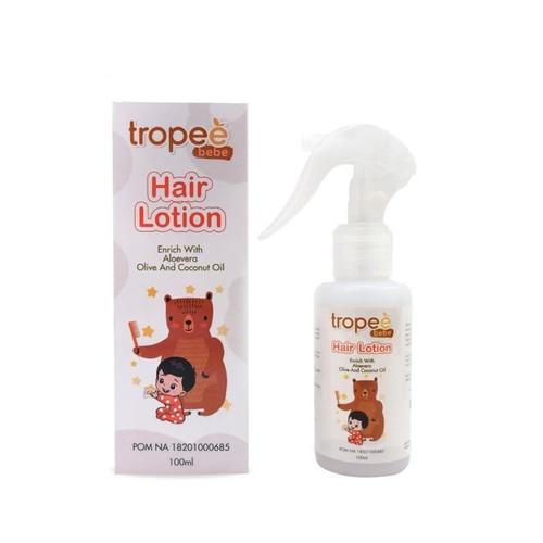 Foto Produk Tropee Bebe Baby Hair Lotion 100ml dari MaeBebe