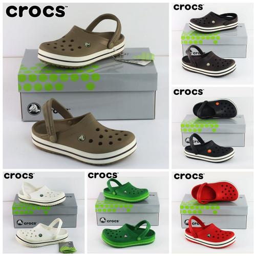 Foto Produk (SALE) Crocs Crocsband Clog Sepatu Sandal Pria & Wanita Include Box dari Crocs Dan Fitflop