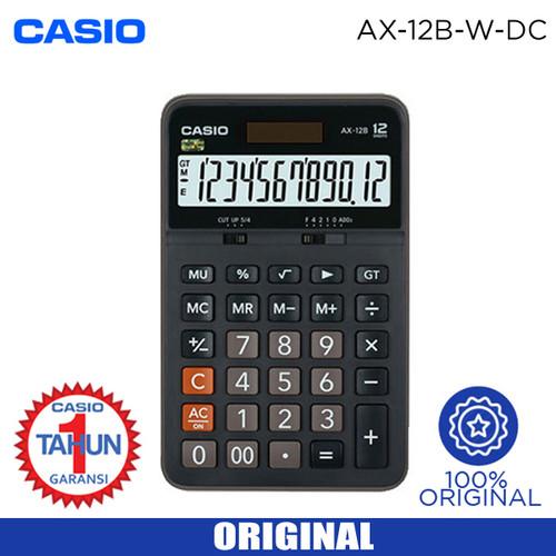 Foto Produk Kalkulator Casio AX 12 B dari JED PLAZA