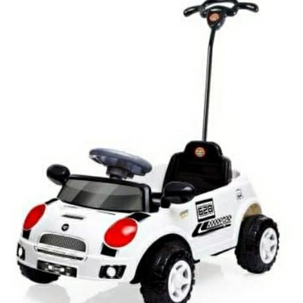Foto Produk Shp Toys SMC 628/ Mobil Dorong Anak/ Mobil Mini Cooper - Putih dari NLS
