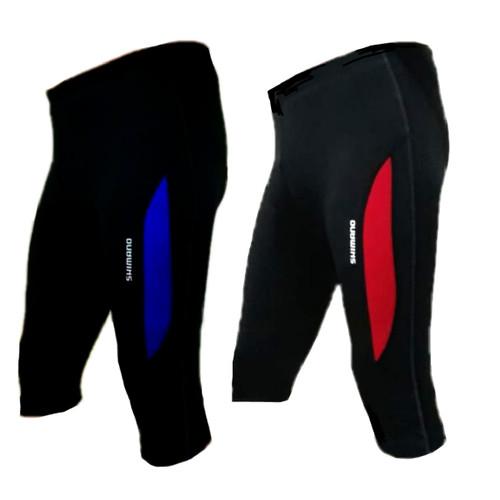 Foto Produk celana sepeda 3/4 list pria wanita pading busa ketat shimano 7/8 pants dari HABU BAGS