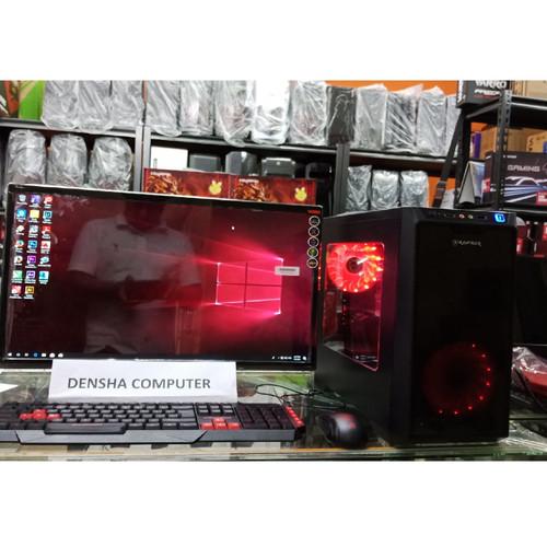Foto Produk 1set Pc Core i7 ram 16gb vga 4Gb monitor Led 24inc dari Densha Computer Bandung