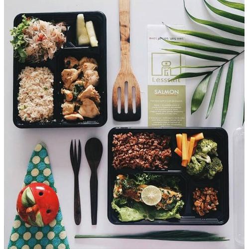 Foto Produk HEALTHY MEAL PLAN DETOX WEIGHT LOSS (20 HARI LUNCH DAN DINNER) dari Lesssalt diet