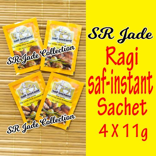 Foto Produk Ragi Saf Sachet 4 x 11 gr Saf Instant Instan Dry Yeast Ragi Kering dari SR JADE COLLECTION
