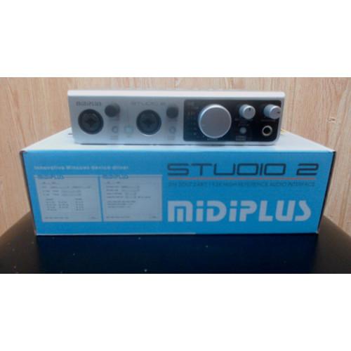 Foto Produk Soundcard MIDIPLUS 2 Setara Souncard Focusrite dari Muqsith Official