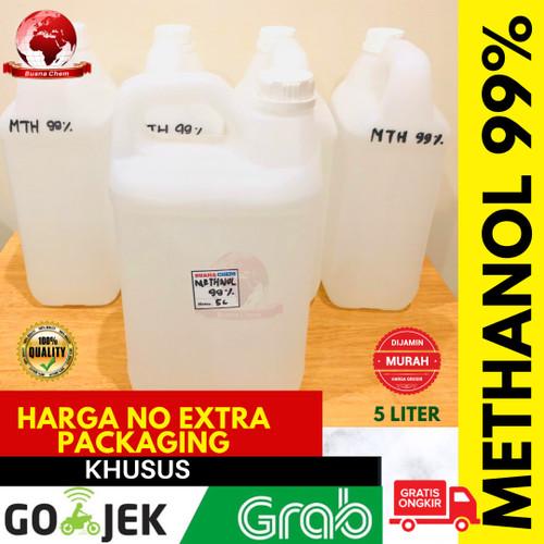 Foto Produk Methanol 99% Alkohol 5 liter GOSEND / Pelarut Parfum Laundry / Metanol dari BUANA CHEM