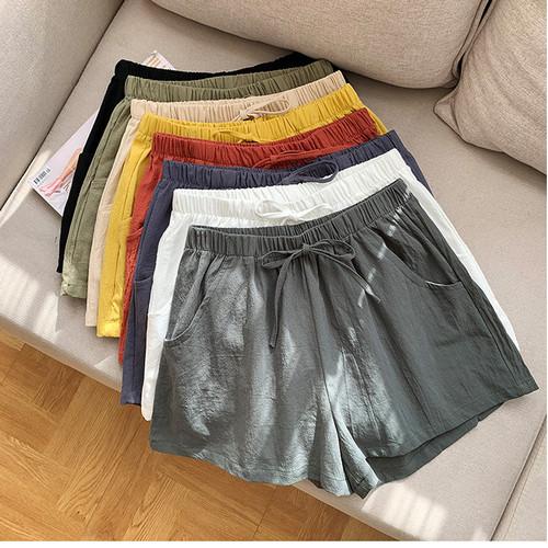 Foto Produk celana pendek model jogger tali cotton grosir - army dari Grosir Korean style