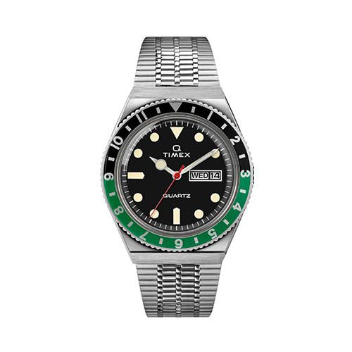 Foto Produk Q Timex Diver inspired SST Case Black Dial SST Band - TW2U60900 dari The Watch Co.