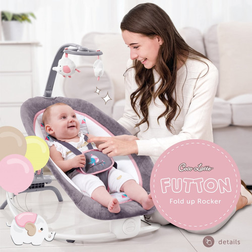 Foto Produk Bouncer cocolatte futton - PINK dari Mother_Baby