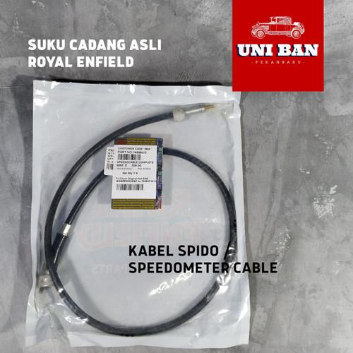 Foto Produk Kabel spido / Speedo Speedometer cable Speedocable asli Royal Enfield dari Toko Tjerita