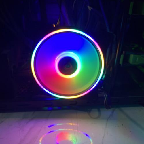 Foto Produk XBT GALAXY RGB Auto Fan Casing 12CM Double RING LED - Fan Case XB-117 dari scriptechnology