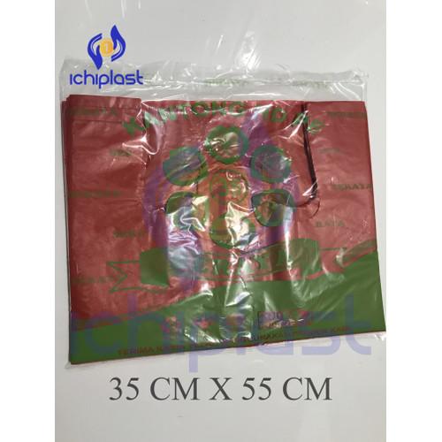 Foto Produk Kantong Plastik SERAYA Merah UK 35 & 40 - 35 X 55 - 35 X 55 dari IchiPlast JKT