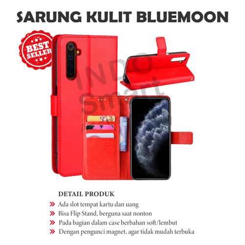 Foto Produk Flip Walet J6 Samsung Sarung Kulit Leather Case Book Cover Standing dari Indo Smart Acc