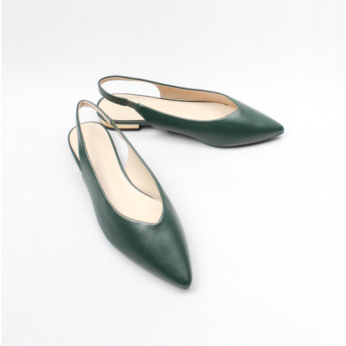 Foto Produk URBANCO BASIC FLATSHOES ALLYN - GREEN, 37 dari URBAN&CO OFFICIAL