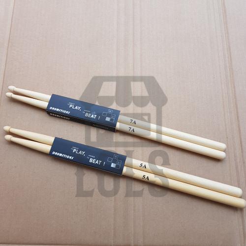 Foto Produk stik drum maple 7a 5a anti slip tidak licin dari LOLS