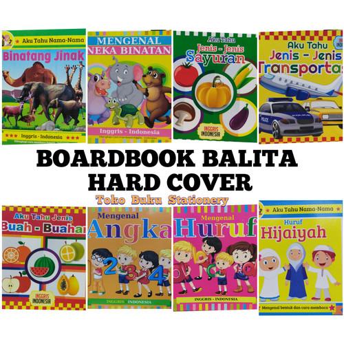 Foto Produk Boardbook Balita Murah Terjangkau, Board book Inggris - Indonesia - SAYURAN dari Toko Buku dan Stationery