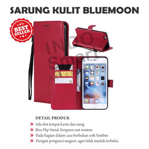 Foto Produk Flip Walet Realme C15 Sarung Kulit Leather Case Book Cover Standing dari Indo Smart Acc
