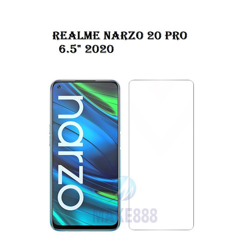 "Foto Produk Tempered Glass REALME NARZO 20 PRO 6.5"" 2020 Screen Guard Antigores dari MAKE888"