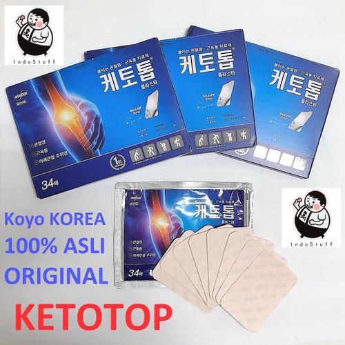 Foto Produk PROMO!!! KETOTOP Koyo KOREA 100% ORIGINAL - 1 box isi 34pcs koyo dari Indostuff
