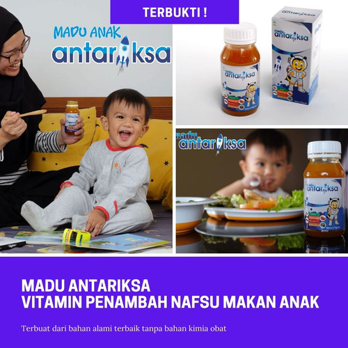 Foto Produk Madu Antariksa sebagai Vitamin Penambah Nafsu Makan Anak | Terbukti !! dari Senja Hari